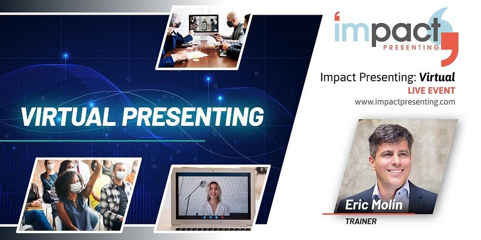 1/2 Day Virtual Impact Presenting