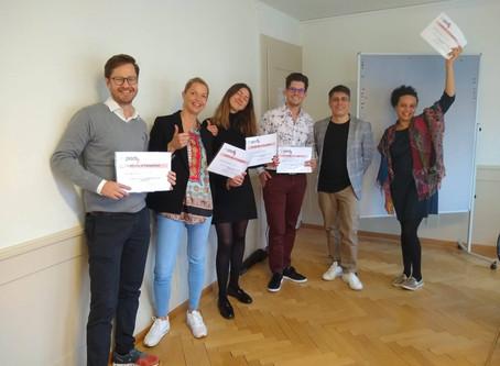 Class review, open-enrollment, Zurich, Switzerland October 2019