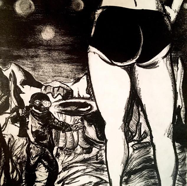 Bikini Babes on Mars
