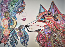 some days im more wolf than woman