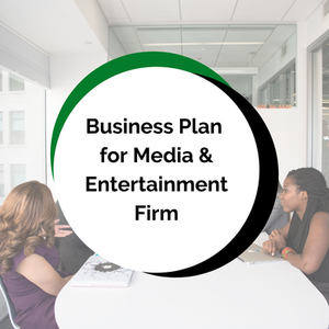 Business Plan Development for Media & Entertainment Business w/ E-Commerce