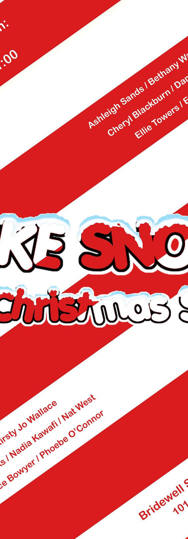 Fake Snow: The Christmas Show Poster