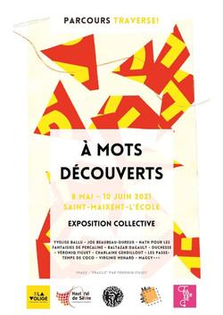 À MOTS DÉCOUVERT EXPO COLLECTIVE