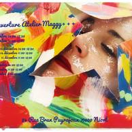 OUVERTURE ATELIER : MAGGY +++