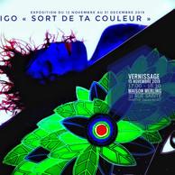 """Exposition : """"Indigo Sort de ta couleur"""""""