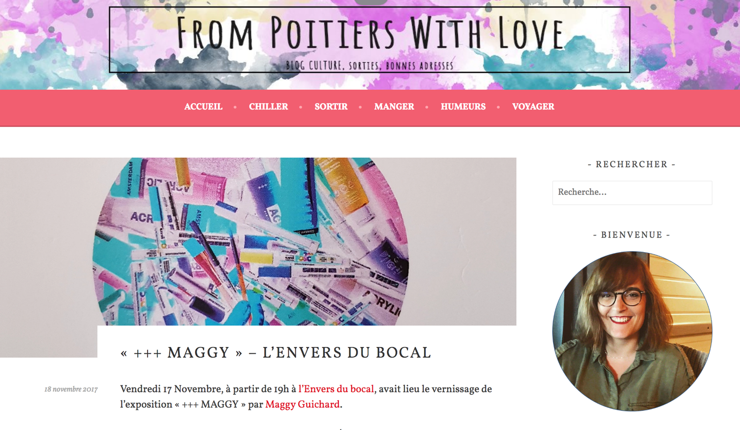 Blog : From Poitiers with Love
