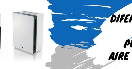 ¿Qué diferencias hay entre ionizador, purificador de aire y ozonizador?