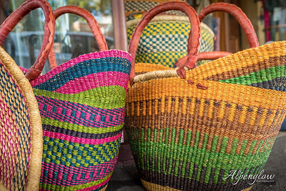 Colourful displays at The market Colours, in South East Queensland