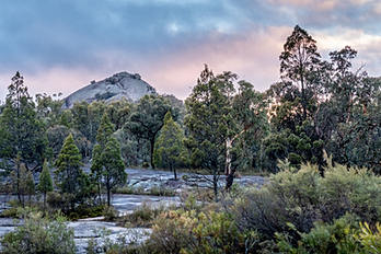 Sunrise over Rocks by Alpenglow Photography