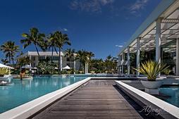 Resort Pool, on the Gold Coast, Australia.