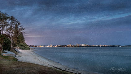 The Lights of Caloundra, Sunshine Coast. Australia.