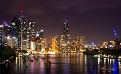 Brisbane City Lights by Alpenglow Photography Brisbane