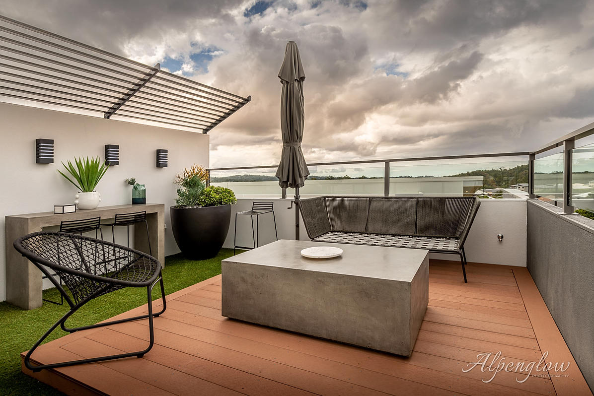 The signature sundeck of an Ownit Homes design.