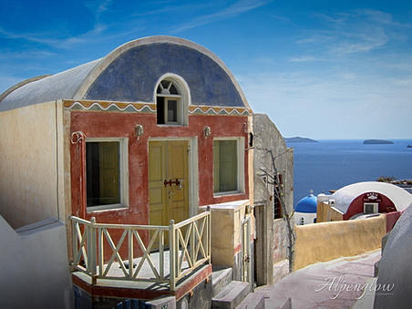 Achitectural Photography - Santorini, Greece