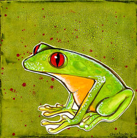 FROG- painting
