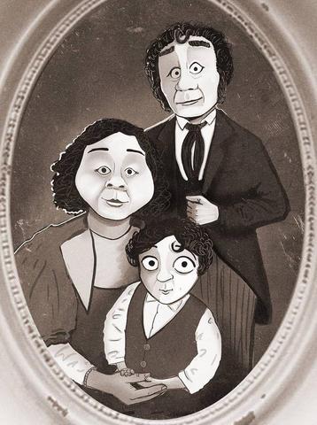 The Cratchit Family Portrait