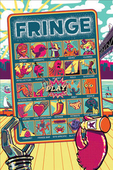 VANCOUVER FRINGE FESTIVAL -Program cover illustration