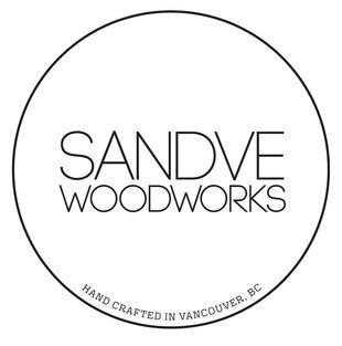 Sandve Woodworks wordmark
