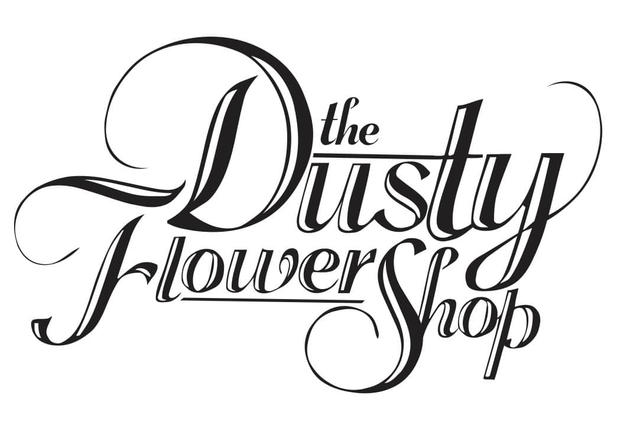 Dusty Flower Shop text design