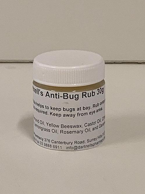 Anti-bug rub