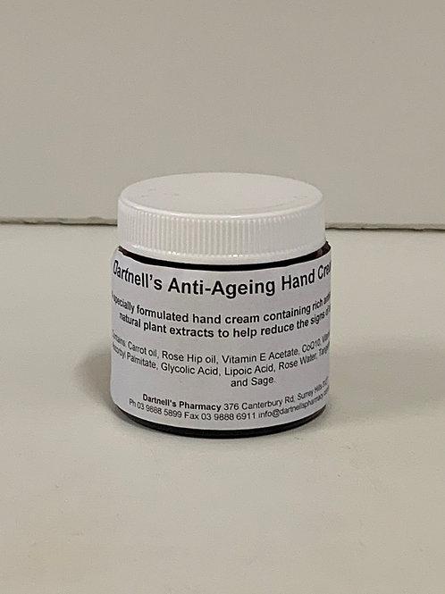 Anti-ageing hand cream