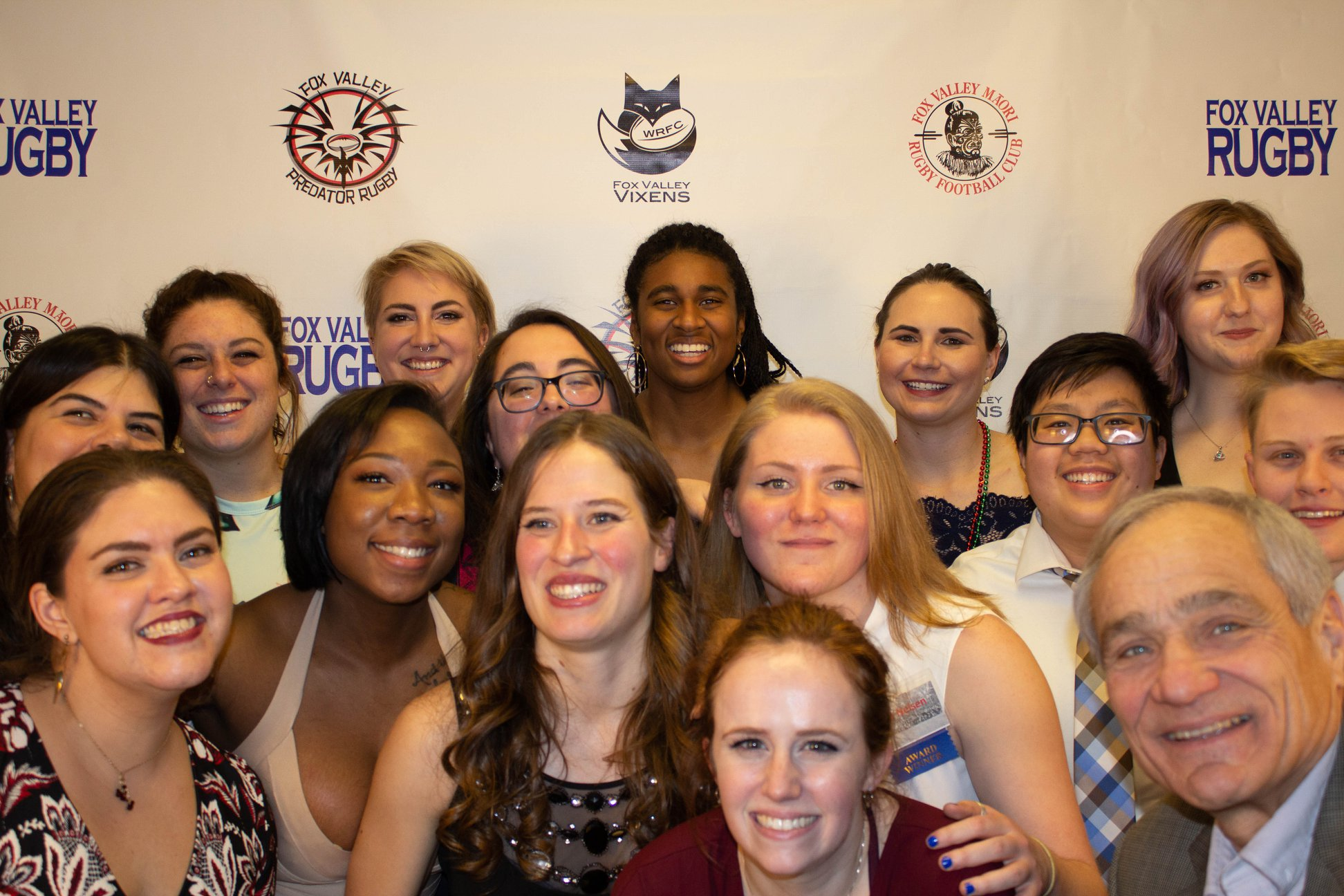 Vixens at Fox Valley Winter Banquet 2020