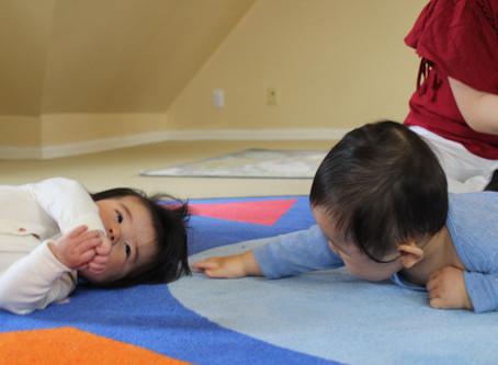 まずは赤ちゃんを観察