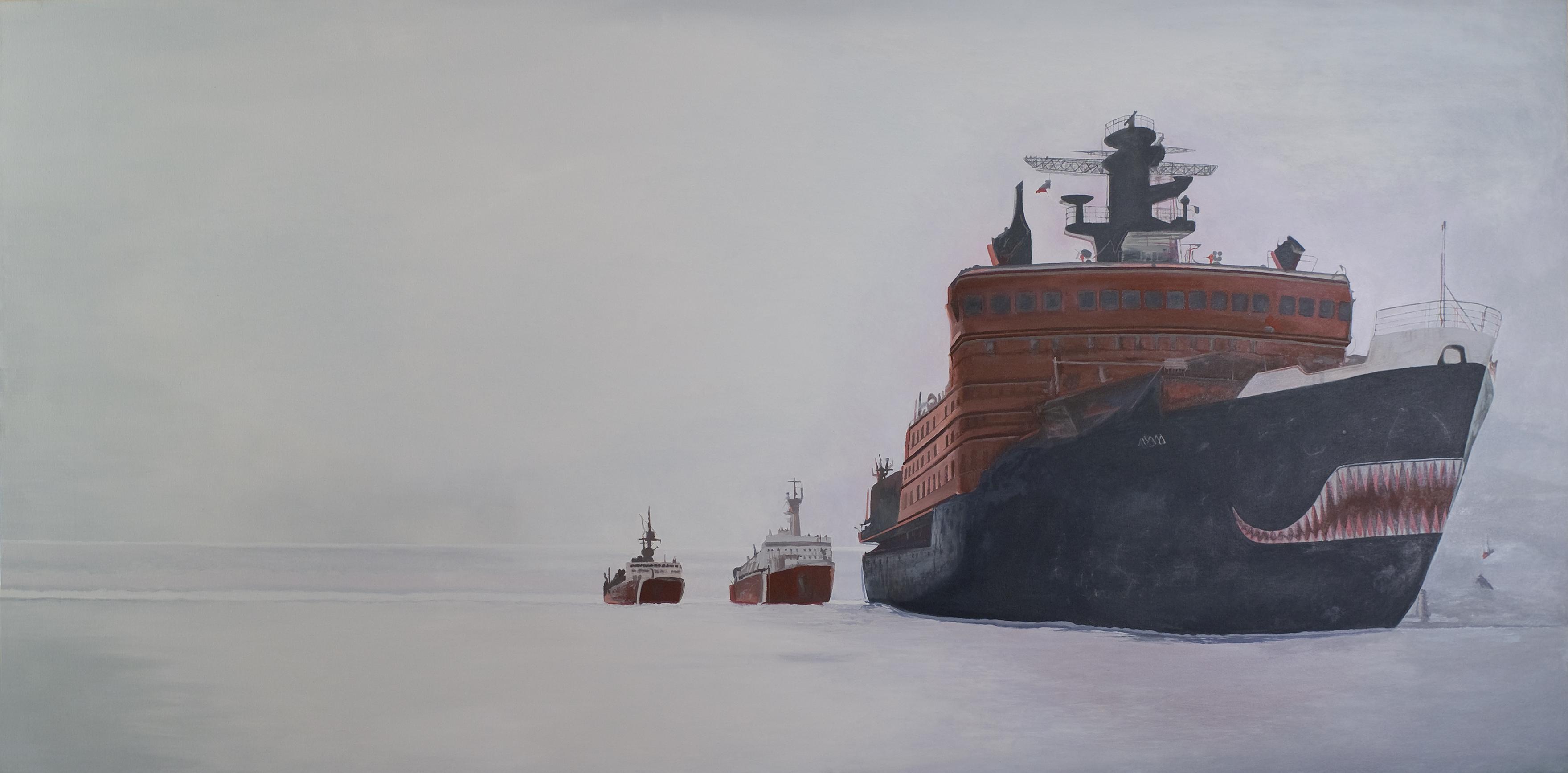 עותק של שוברת קרח רוסית בים הצפוני