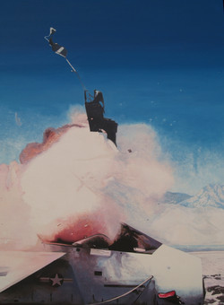 Ejection Seat oil on canvas 170X130cm 2013