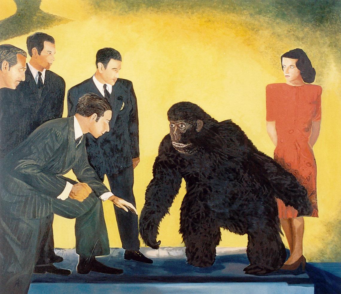 gorila in the studio