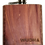 Thumbnail: 6 Oz. Wooden Hip Flask (California Republic Flag in Mahogany)