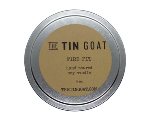 Fire Pit Soy Candle