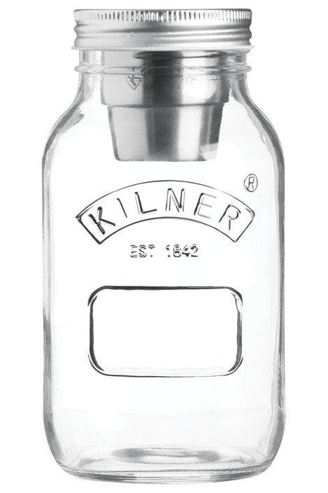 Kilner  34 oz. Food To Go Container  1 pk Clear