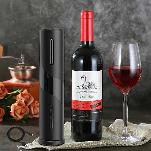 Rechargeable Electric Wine Bottle Opener Red Wine Kitchen Tool SP