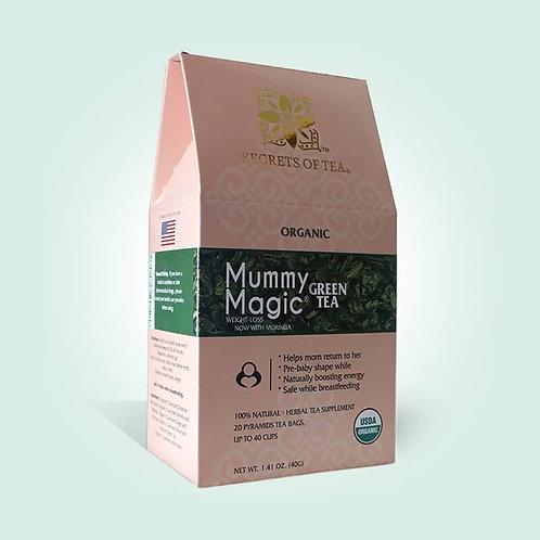 Mummy Magic Weight Loss Green Tea (with Moringa)- 40 Servings- USDA