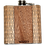 Thumbnail: 6 Oz. Wooden Hip Flask (Sawtooth Mountains in Bamboo & Black Walnut)