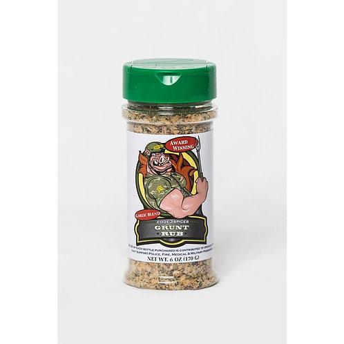 Code 3 Spices  Grunt Rub  Garlic Blend  BBQ Seasoning  6 oz.