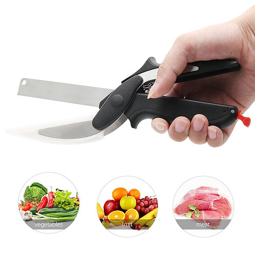 Kitchen Food Cutter Chopper Clever Kitchen Knife with Cutting Board SP