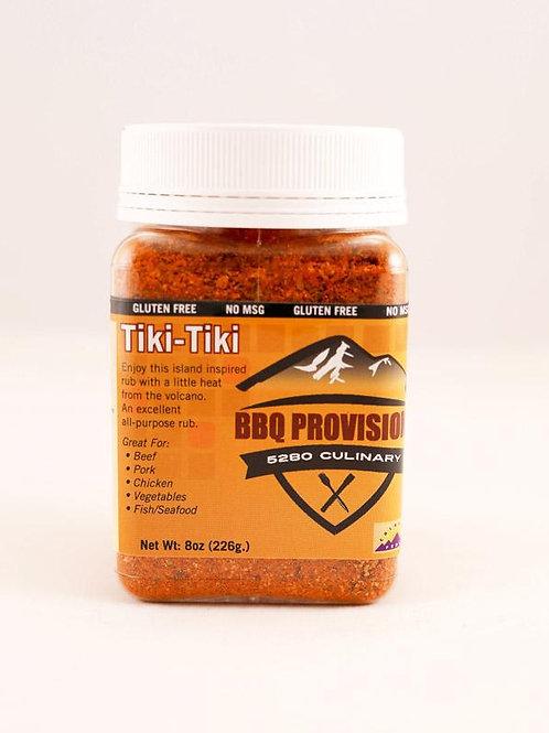 5280 Culinary  BBQ Provisions  Tiki Tiki  BBQ Rub  8 oz.