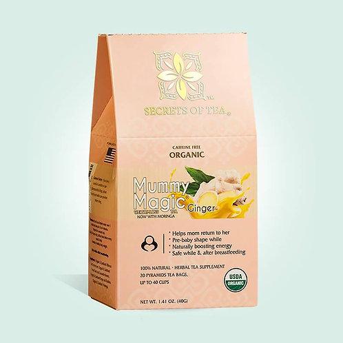 SLIM TEA- Mummy Magic Weight Loss Ginger Tea: 40 CUPS