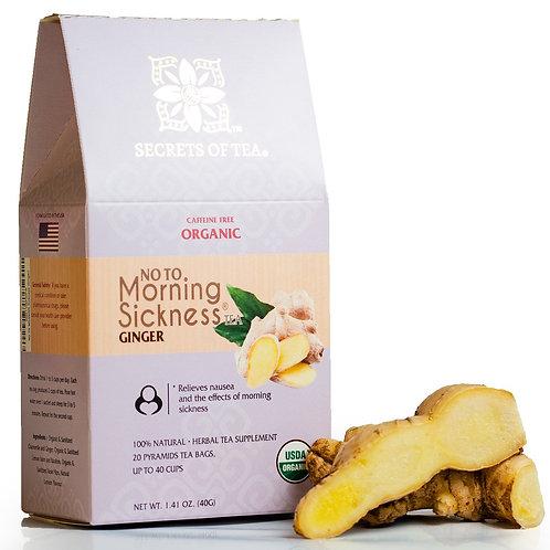 Morning Sickness Tea - Ginger: 40 Cups