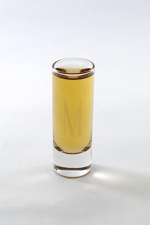 Personalized Island Shot Glass