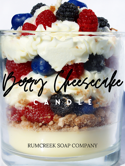Berry Cheesecake Candle