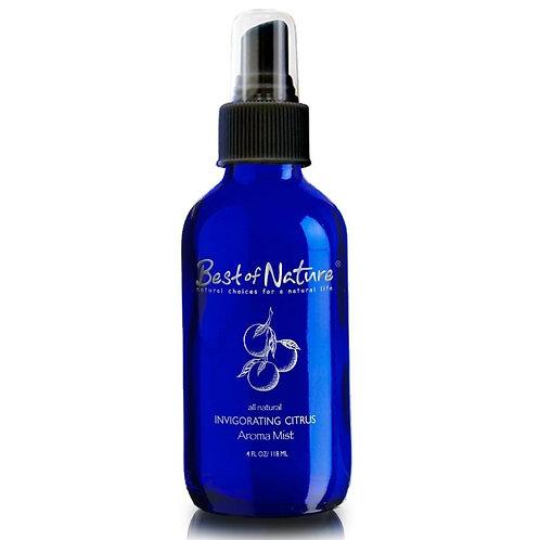 Invigorating Citrus Essential Oil Aroma Mist & Room Spray