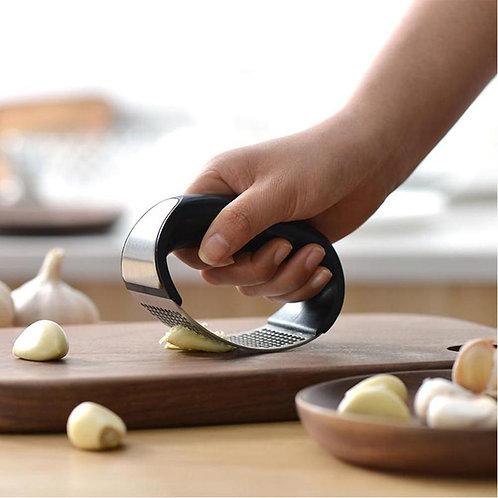 Stainless Steel Garlic Presser Kitchen Manual Garlic Mincer Chopping