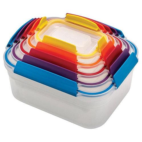 Joseph Joseph  Nest  101 oz. Food Storage Container Set  1 pk Assorted