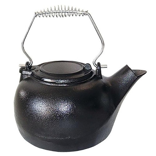 US Stove  Black  Cast Iron  3 qt. Tea Kettle