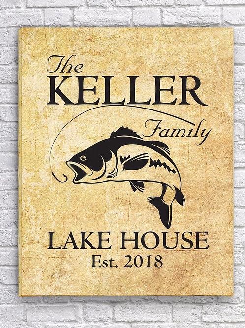 Lake House Canvas