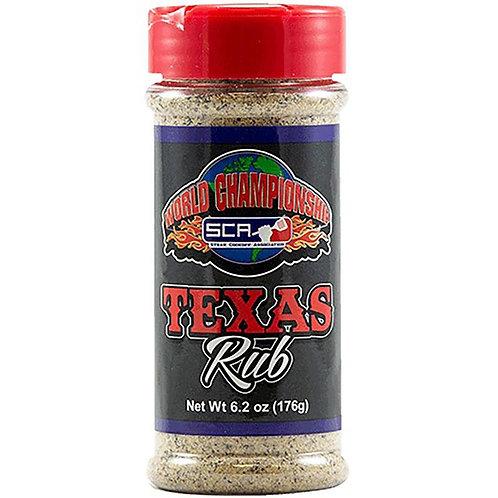Steak Cookoff Association  World Chamionship  Texas  BBQ Rub  6.2 oz.