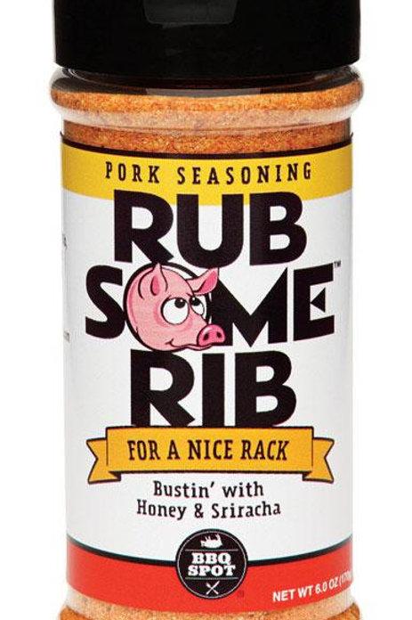 BBQ Spot  Rub Some  Honey and Sriracha  Seasoning Rub  6 oz.